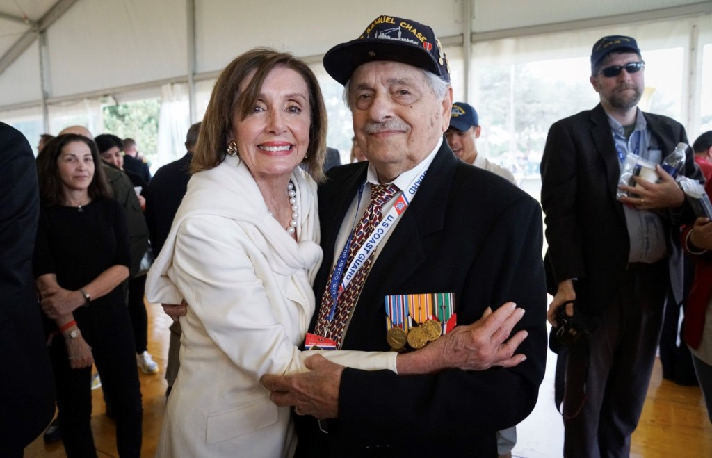 Frank Devita with Nancy Pelosi