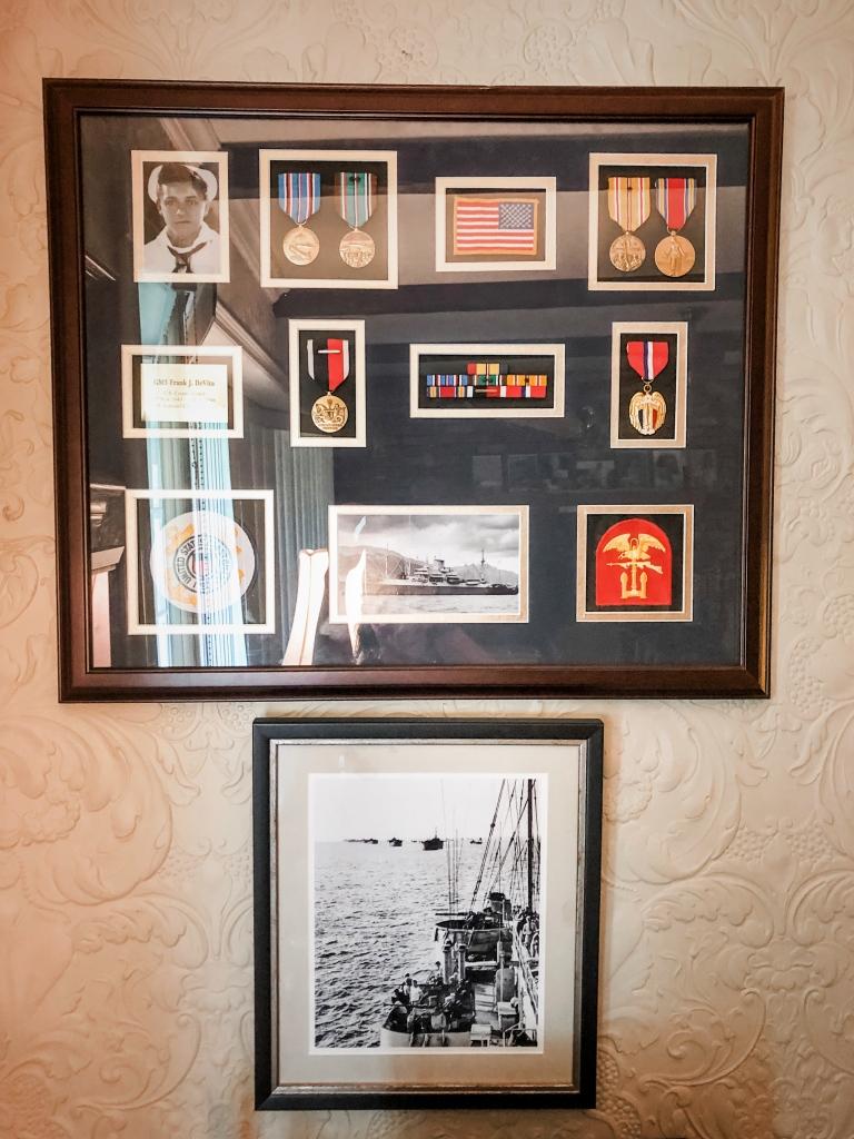Frank Devita's War Medals
