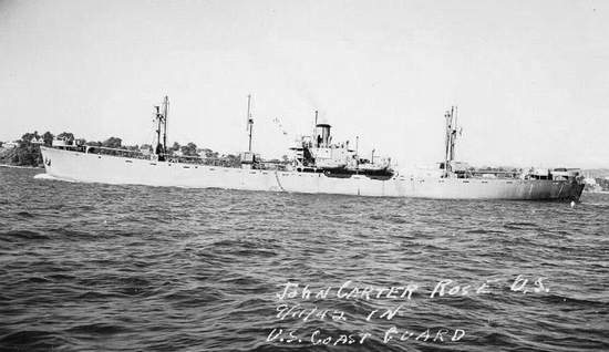 The USS John Carter Rose