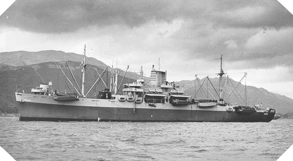 The USS Samuel Chase