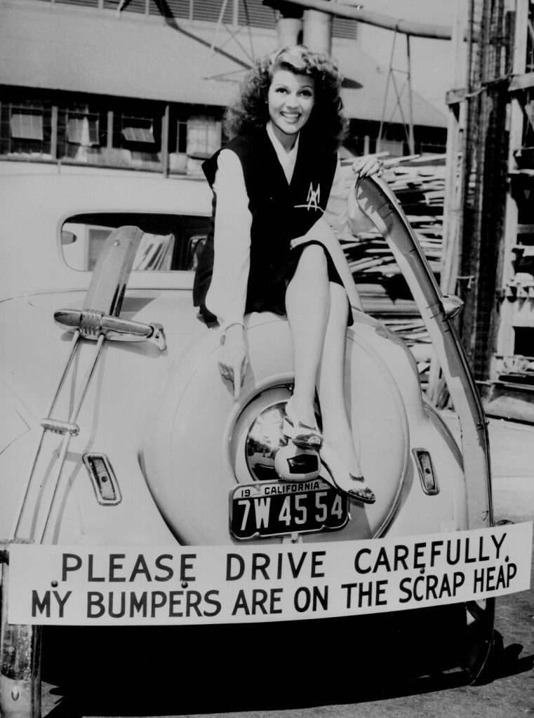 Rita Hayworth and Rubber Drives